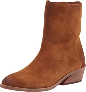 حذاء برقبة قصيرة للنساء من Frye Farrah Wave متوسط الساق, (قمح), 38 EU