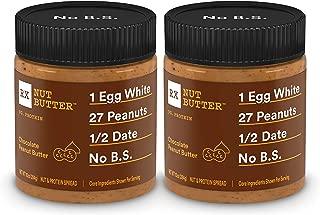 RX Nut Butter, Chocolate Peanut Butter Jar, 10 Ounce (Pack of 2)