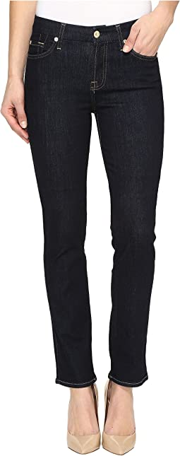 7 For All Mankind - Kimmie Straight in Dark Rinse