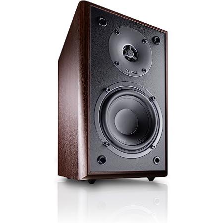 Magnat Monitor Supreme 202 I 1 Paar Regallautsprecher Mit Hoher Klangqualität I Passiv Lautsprecherbox Mit Anspruchsvollem Hifi Sound Farbe Mocca Audio Hifi