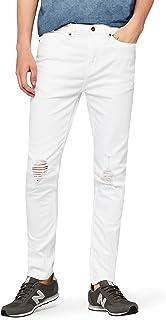 b8f9211e22b2f Amazon.fr : Blanc - Jeans / Homme : Vêtements