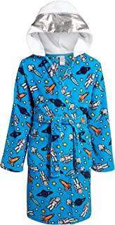Image of Blue Space Astronaut Robe for Boys - See More Character Robes