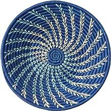Ten Thousand Villages Woven Raffia Basket 'Sky Flight Basket'