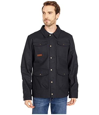 Obermeyer Oliver Waxed Jacket (Black) Men