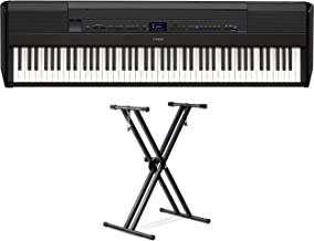 Yamaha P-515 88-Key Portable Digital Piano (with double braced stand)