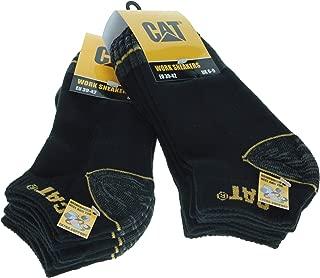 6 pairs Men's Sneaker Work Socks Caterpillar Accident...