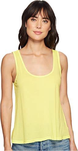 Splendid Vintage Whisper Scoop Tank Top
