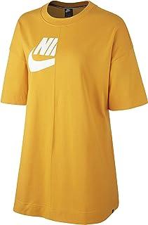 Nike T-Shirt For Women Yellow - M