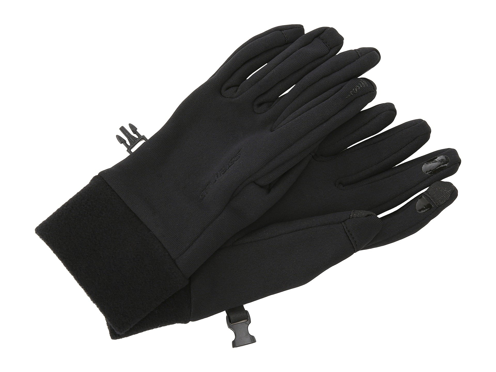 Seirus Soundtouch Powerstretch Glove Liner Black Running Gloves 8253672
