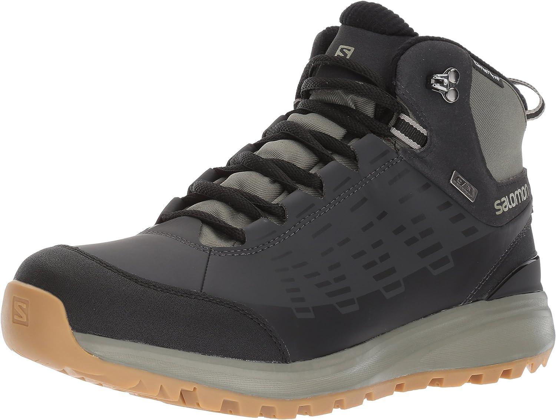 SALOMON Men's L39183000 High Rise Hiking Boots