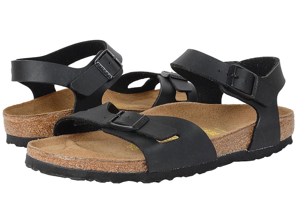 Birkenstock Rio (Black Birko-Flortm) Sandals