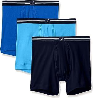 Nautica Mens Comfort Cotton Underwear Boxer Brief Multi Pack Boxer Briefs