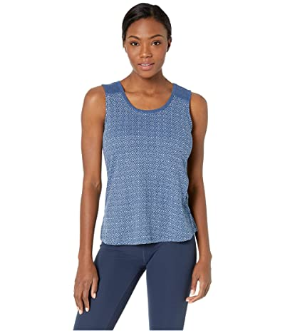 Aventura Clothing Leanna Tank Top (Navy Peony) Women
