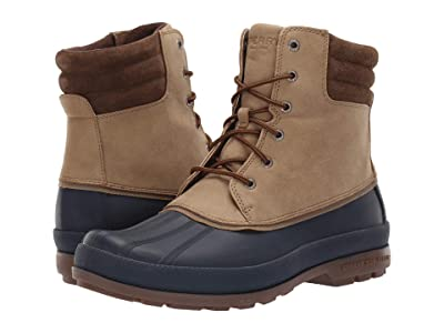 Sperry Cold Bay Boot (Taupe/Navy) Men
