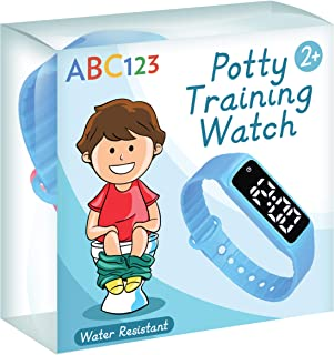 ABC123 Potty Training Watch – Baby Reminder Water Resistant Timer for Toilet..