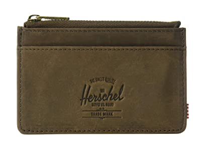 Herschel Supply Co. Oscar RFID (Nubuck Brown) Wallet Handbags