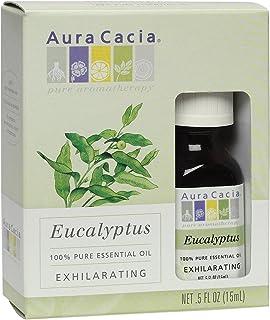 Aura Cacia Pure Essential Oil, Eucalyptus, 0.5 Fluid Ounce