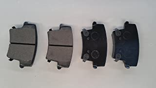 Rear Both Left and Right PROFORCE SMD1596 Semi Metallic Disc Brake Pads Set