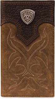 Men's Boot-Embroidery Rodeo Brown Wallet