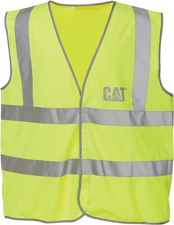 Caterpillar C1322024 Herren Sicherheitsweste Warnweste Bekleidung