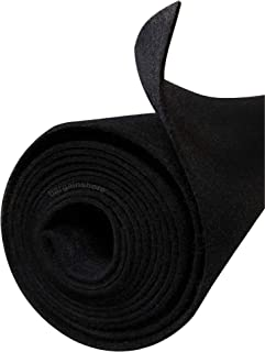 Polymat Quality 10ft by 3.75ft Wide Black Auto Rv Trunk Liner Autotrim Dash Cover Headliner Dj Cabinet Pad Store Display Wrap Latex Backed Carpet
