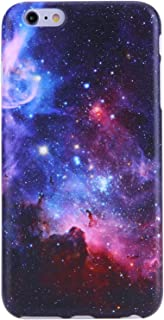 iPhone 6 Case, iPhone 6s Case,VIVIBIN Cute Blue Nebula Women Girls Clear Bumper Best Protective Soft Silicone Rubber Glossy TPU Cover Slim Fit Best Phone Case iPhone 6/iPhone 6s