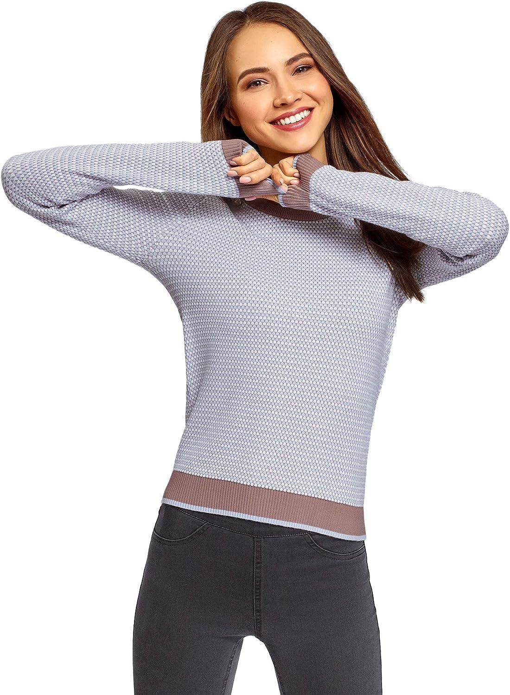 oodji Ultra Women's Jacquard Knit Pullover