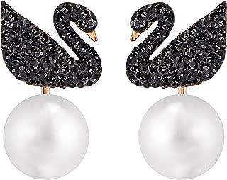 Best swarovski iconic swan earrings Reviews