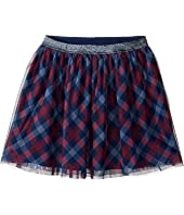 Tommy Hilfiger Kids - Printed Plaid Skirt (Big Kids)