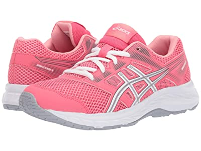 ASICS Kids Gel-Contend 5 GS (Big Kid) (Pink Cameo/White) Girls Shoes