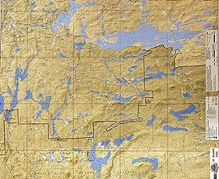 McKenzie BWCA/Quetico Canoe Map Number 21