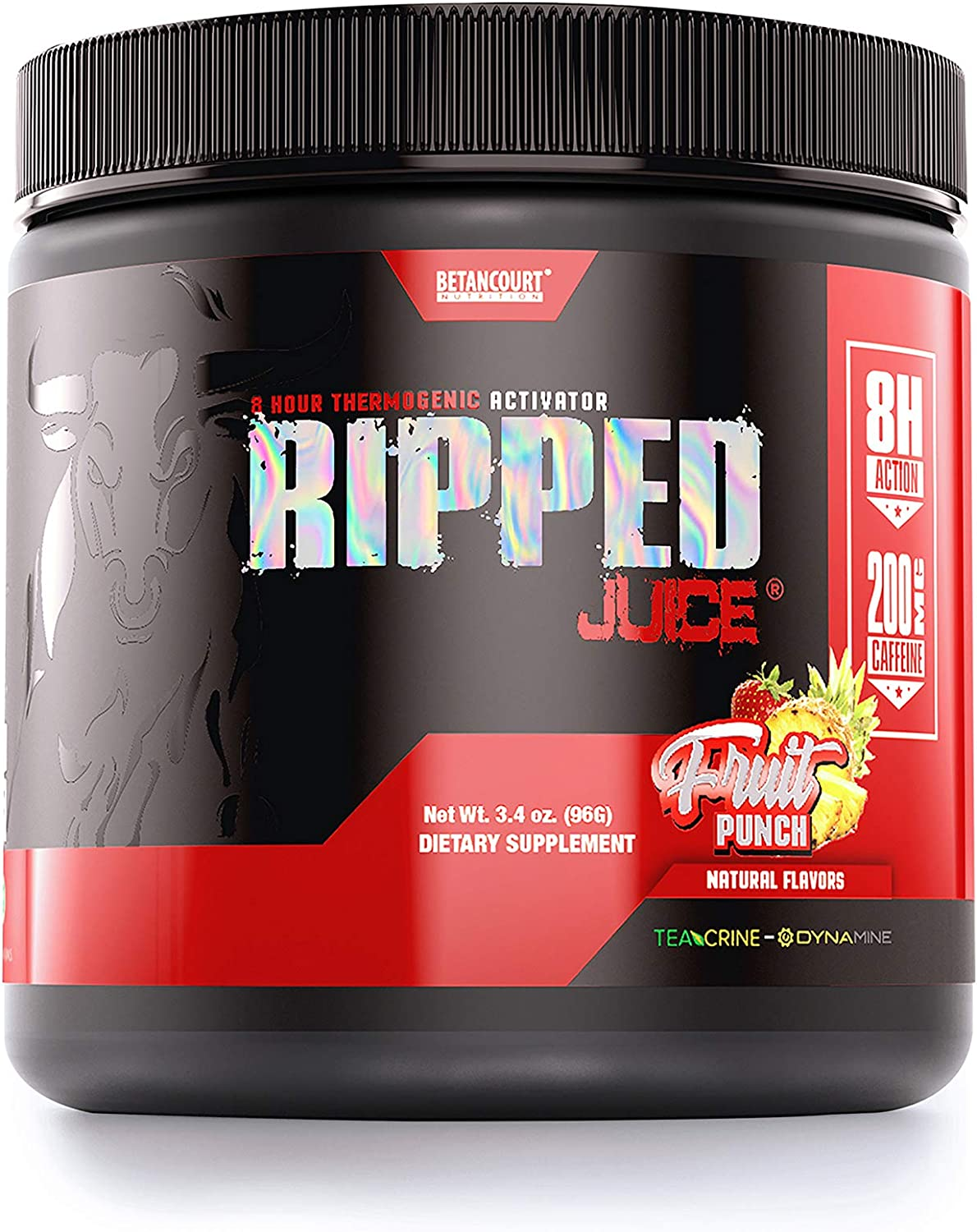 Betancourt Free shipping anywhere in the nation Time sale Nutrition Ripped Juice Powder Free Fru 3.4oz DMAA