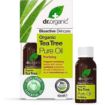 Dr.Organic Tea Tree Olio Essenziale, 10ml