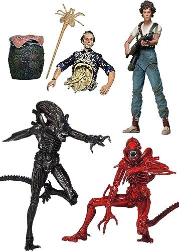 Alien   7-Zoll-Action-Figur-Serie 5  Satz von 4 [Japan echte]