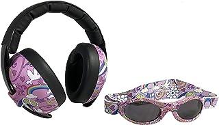 Banz Baby Earmuff & Sunglass Combo, Love & Peace (EM047)