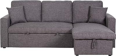 Tremendous Amazon Com Stone Beam Dalton Sectional Sofa Couch 91 5W Machost Co Dining Chair Design Ideas Machostcouk