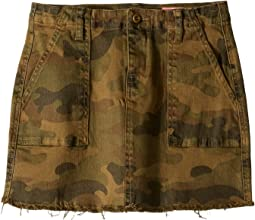 Camouflage Printed Utility Skirt in Chain of Command (Big Kids)