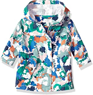 Gymboree Baby Girls Long Sleeve Woven Hodded Jacket