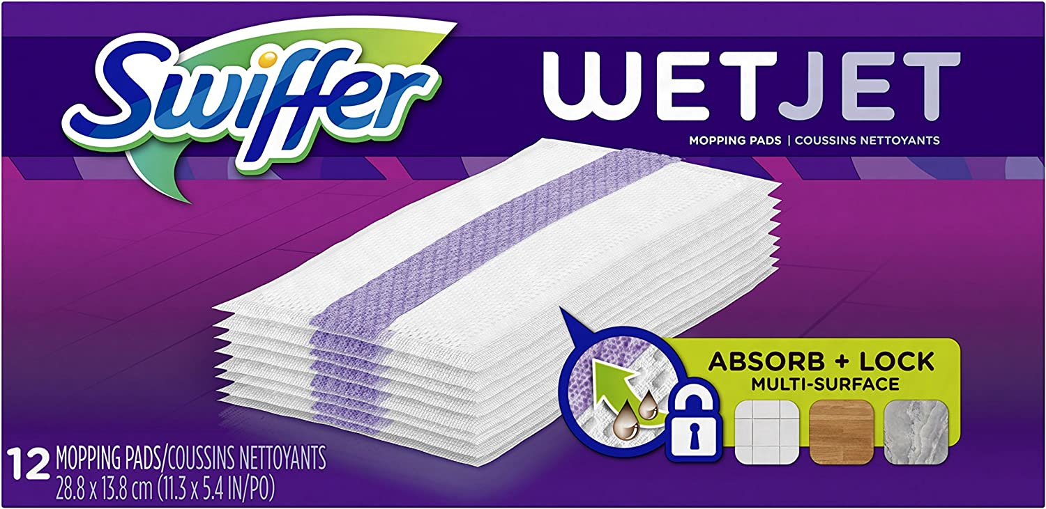 Swiffer WetJet Hardwood Floor Cleaner Pad Mop Refill Outlet ☆ Free Omaha Mall Shipping Spray Mul