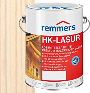 Remmers HK-Lasur Holzschutzlasur 5L Weiss