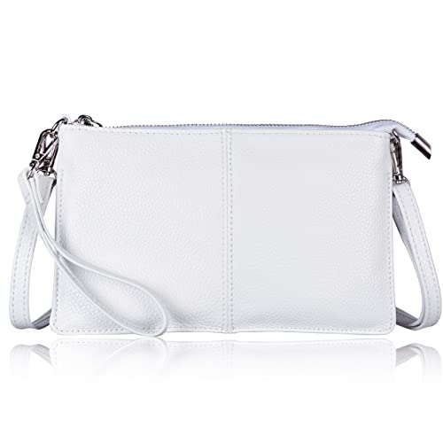 17f4d1c371a5 Befen Women s Soft-Feel Genuine Leather Smartphone Leather Wristlet  Crossbody Wallet Clutch Purse with Crossbody