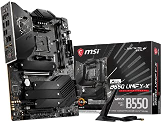 MSI MEG B550 UNIFY-X マザーボード ATX [AMD B550チップセット搭載] MB5196