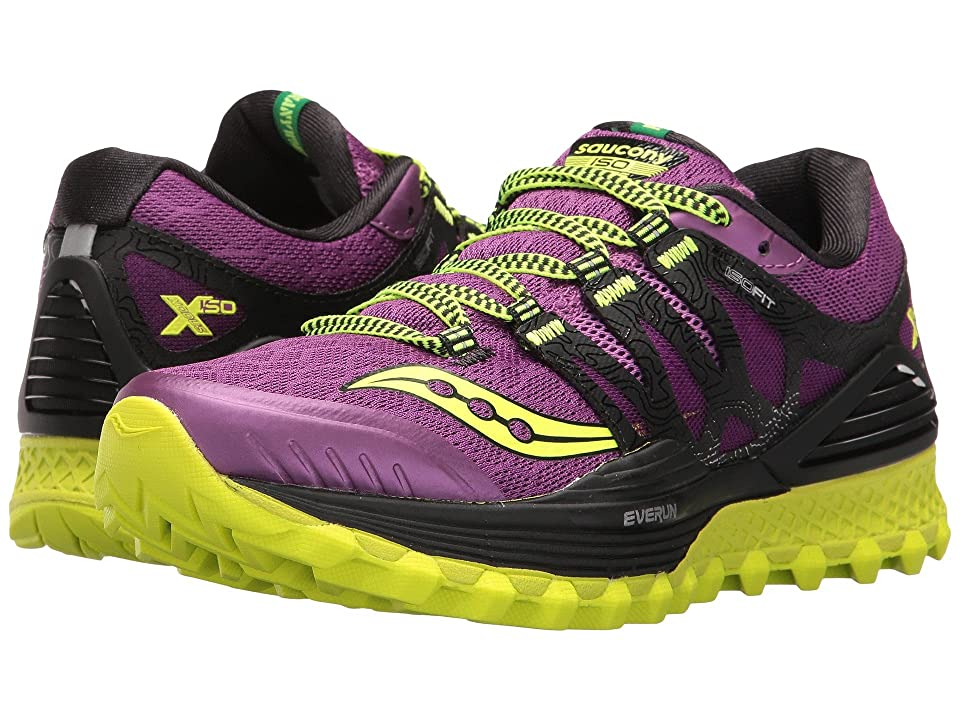 Saucony Xodus ISO (Purple/Citron) Women