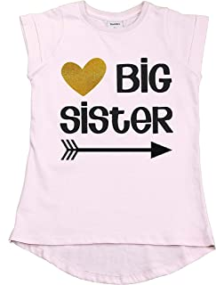 Unordinary Toddler Big Sister Shirt Outfit Pregnancy Reveal Announcement Promoted to Sister t-Shirt