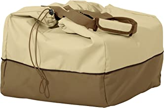Classic Accessories Veranda Water-Resistant 22 Inch Rectangular Table Top Grill Cover