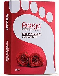 Raaga Professional Manicure Pedicure Rose 12 Sachets 63 g