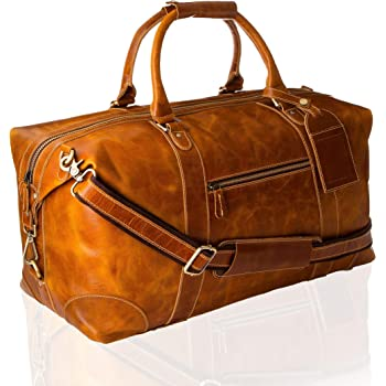 Gym Bag with Vintage Retro Elk Distressed Print Travel Weekender Duffel Bag for Man and Woman