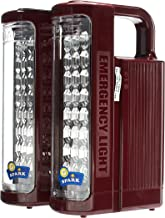 Geepas GE5566 Rechargeable Led Lantern, Red & Black - Pack of 1