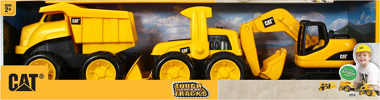Toy State Caterpillar Tough Tracks, 3-Pack (3  x 1.5  x 2 ) (each item varies in Größe)