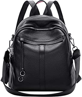 ALTOSY Genuine Leather Backpack Purse for Women Fashion Convertible Backpack Purse Ladies Shoulder Bag